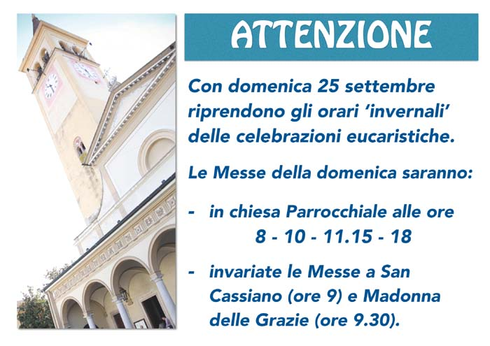 avvisi Messe 2016 autunno